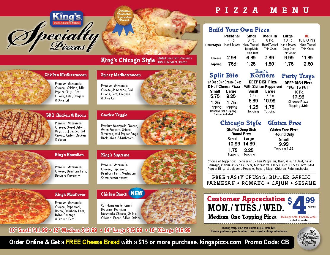 Menu 9 2017 pizza Page 1