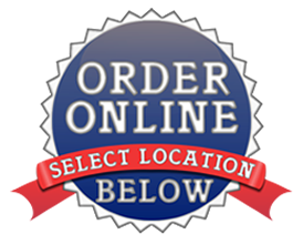 online order 2 locations sticker